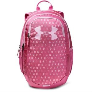 Under Armour Scrimmage pink backpack New
